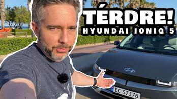 Videón a Tesla-gyilkos-gyilkos Hyundai IONIQ 5