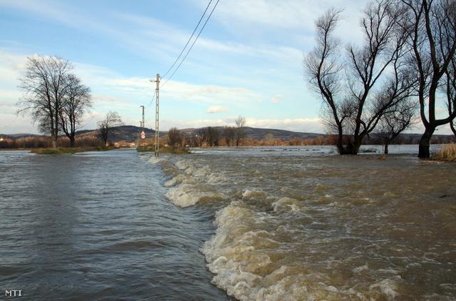 A Sajó áradása 2010-ben is jelentős problémákat okozott