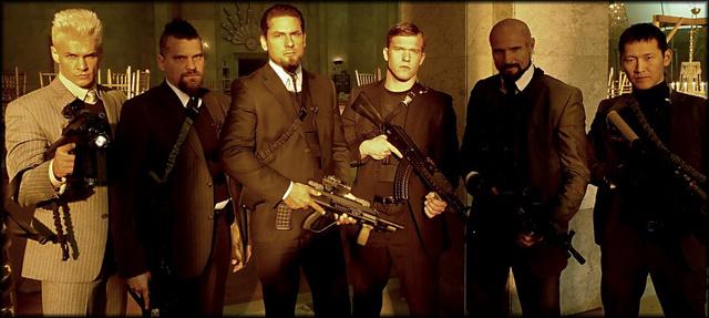A Die Hard 5 főgonoszának válogatott zsoldoscsapata