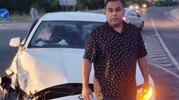 Bódi Csabi: Húsz percig feküdtem a földön a sokktól, totálkáros az autóm