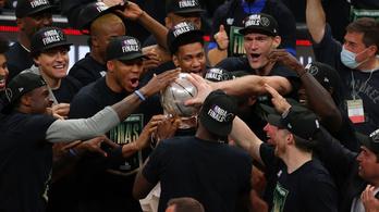 47 év után döntős a Milwaukee Bucks