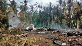 Földnek csapódott egy újoncokkal teli C-130-as, sok halott