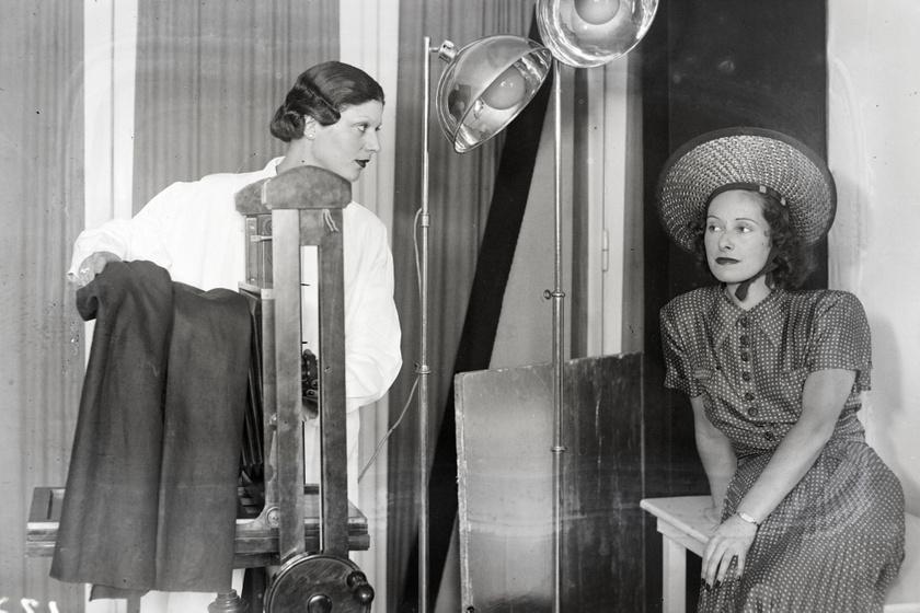 Márkus Margit és Muráti Lili színésznők 1938-ban