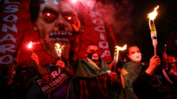 Bolsonaro távozását követelik a járvány hanyag kezeléséért