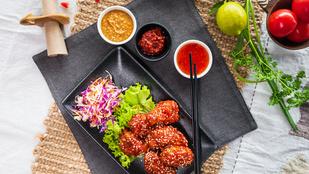 Koreai csilis-mézes csirke szezámmaggal: hidegen és melegen is isteni