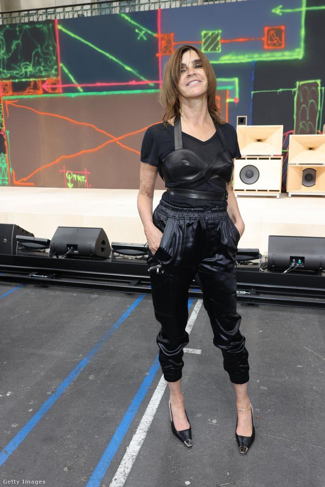 Carine Roitfeld ex-Vogue-főszerkesztő pedig maga volt a megtestesült mókagyár