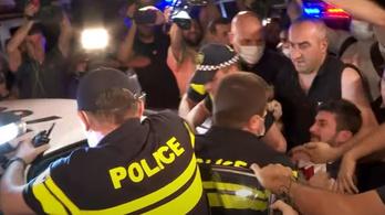 Megtámadták a Pride-irodát, lemondták a grúz melegfelvonulást