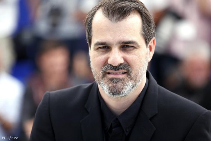 Mundruczó Kornél rendező a Jupiter holdja című filmje bemutatójának alkalmából tartott fotózáson a 70. Cannes-i Nemzetközi Filmfesztiválon 2017. május 19-én