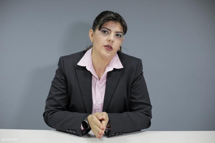 Laura Codruta Kövesi az Európai Ügyészség főügyésze