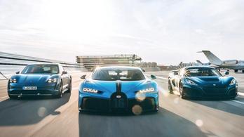 Megtörtént: házasodik a Bugatti és a Rimac