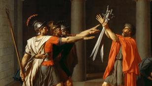 A nácik ezt benézték: a rómaiak sosem köszöntötték karlendítéssel egymást