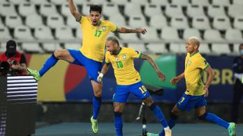 Brazília az első döntős a Copa Américán