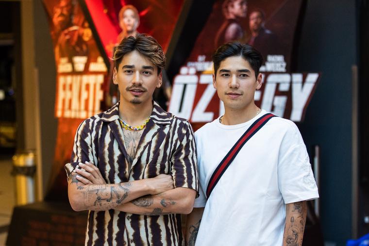 Ha mozipremierről van szó, Liu Shaolin Sándor és öccse, Liu Shaoang mindig együtt érkeznek