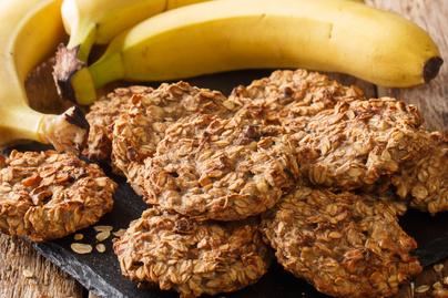 Fahéjas zabkeksz édes banánnal – Egészséges választás, ha nassolnál