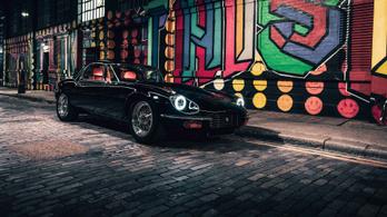 400 lóerő egy klasszikus Jaguarban, tengernyi pénzért