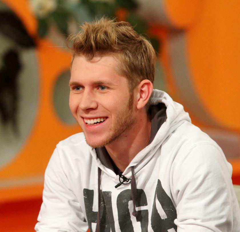 Baricz Gergő 2011-ben az RTL Klub Reggeli című műsorában.
