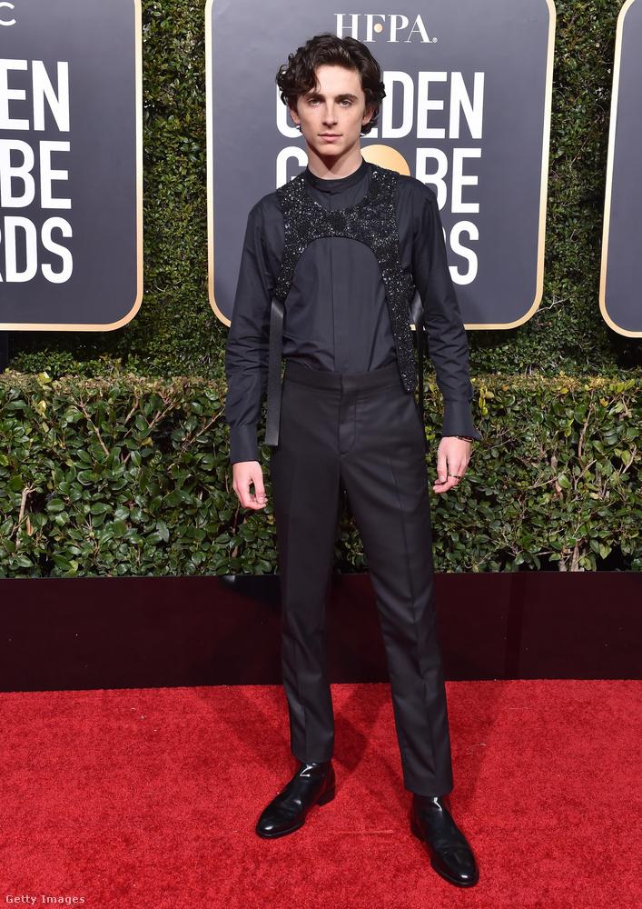 Még a 2019-es Golden Globe-kiosztón volt, hogy egy híres férfi először viselt ilyet, és a dolognak viszonylag nagy visszhangja volt
