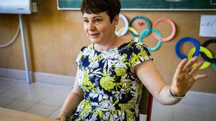 Velencén légkondicionált konténerekben tartja az óráit a térség egyik legkreatívabb tanítónője