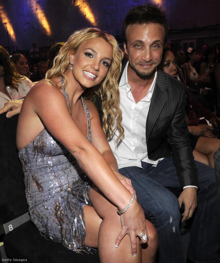 Spears és Rudolph 2008-ban, az MTV VMA videós-zenei díjátadóján