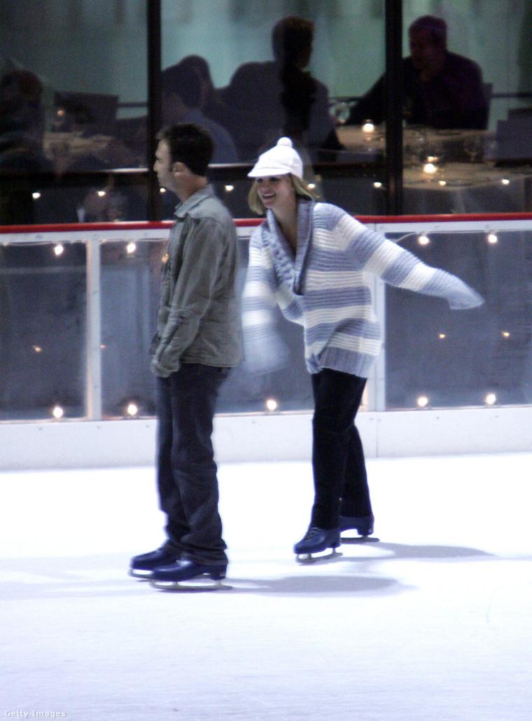Spears és egykori menedzsere 2008-ban