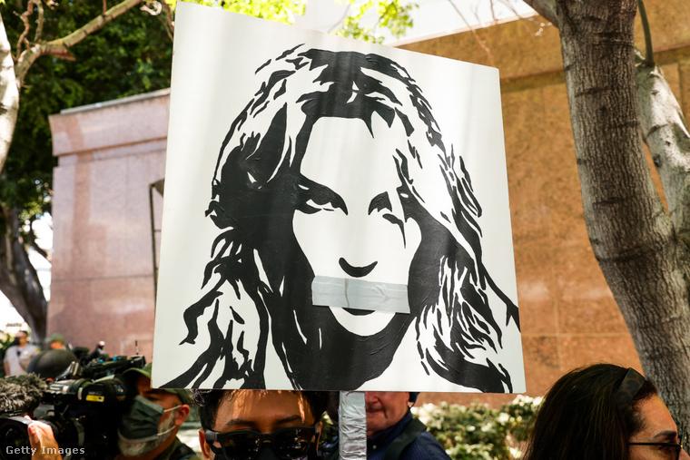 Free Britney!-tüntetés 2021 júniusában