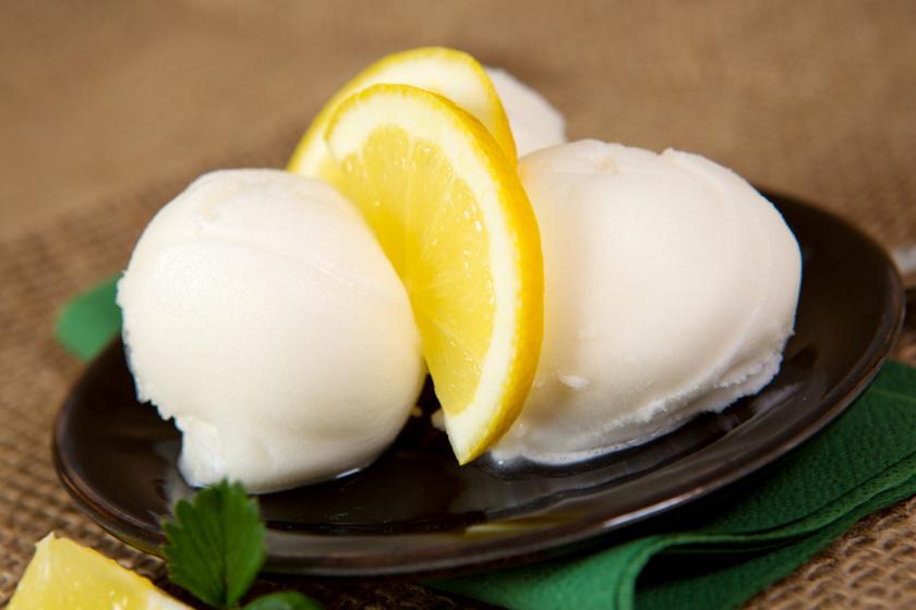 citromfagyi recept