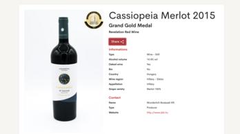 Nemzetközi elismerést szerzett egy villányi vörösbor