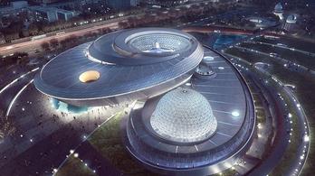 Elképesztő méretű múzeum nyílt Sanghajban a csillagászat szerelmeseinek