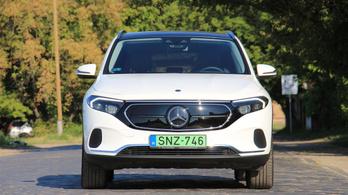 Teszt: Mercedes EQA 250