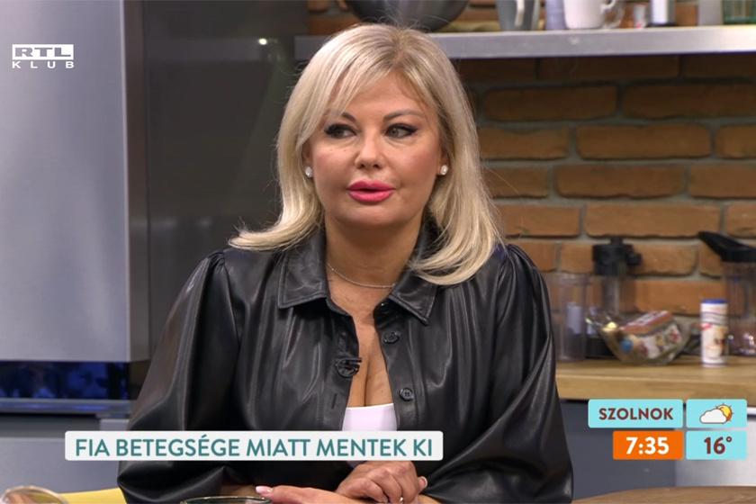 Rába Tímea az RTL Klub Reggeli című műsorának 2020. július 17-i adásában.