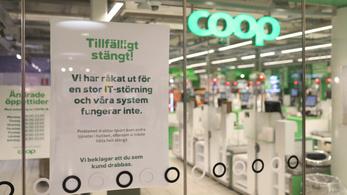 Zsarolóvírus: hetekig tart, míg kinyit a svéd Coop