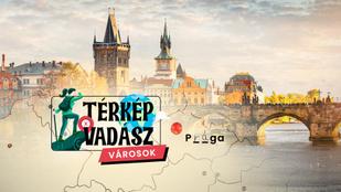 Térképvadász: Melyik európai városokat jelöltük a vaktérképen? Kvíz!