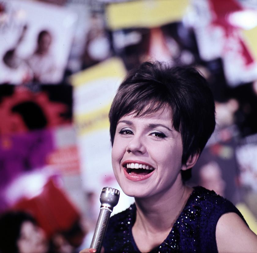 Lehoczky Zsuzsa színművésznő 1964-ben.