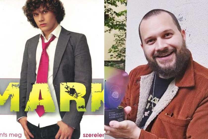 Zentai Márk 2007-ben a Ments meg szerelem! albumának borítóján - és 2021 áprilisában.