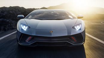 Stílusosan búcsúzik a Lamborghini Aventador