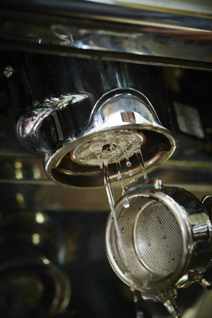 kávéfőző tisztítás belső