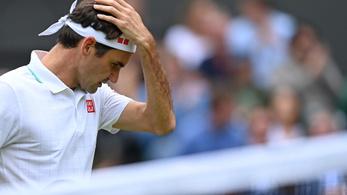Nagyon megverték Federert a wimbledoni negyeddöntőben
