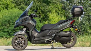 Teszt: Yamaha Tricity 300 – 2021.