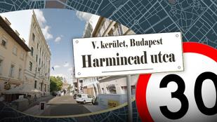 Miért hívnak Harmincad utcának egy mindössze 70 méter hosszú utcát?