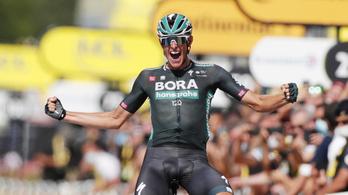 Szakaszsikerrel vigasztalódhatott a Touron a Sagant elveszítő Bora