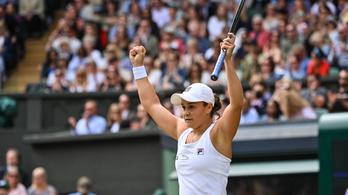 A jelenlegi és egy korábbi világelső döntőzik a nőknél Wimbledonban