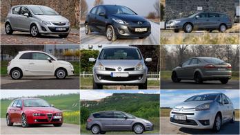 Az Év Autója-díj dobogósai mint használt autók XV. – 2006-2008.