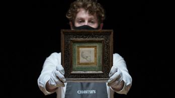 Rekordáron kelt el Leonardo rajza