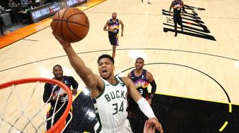 Hiába a Jannisz-mágia, már 2–0-ra vezet a Phoenix az NBA döntőjében