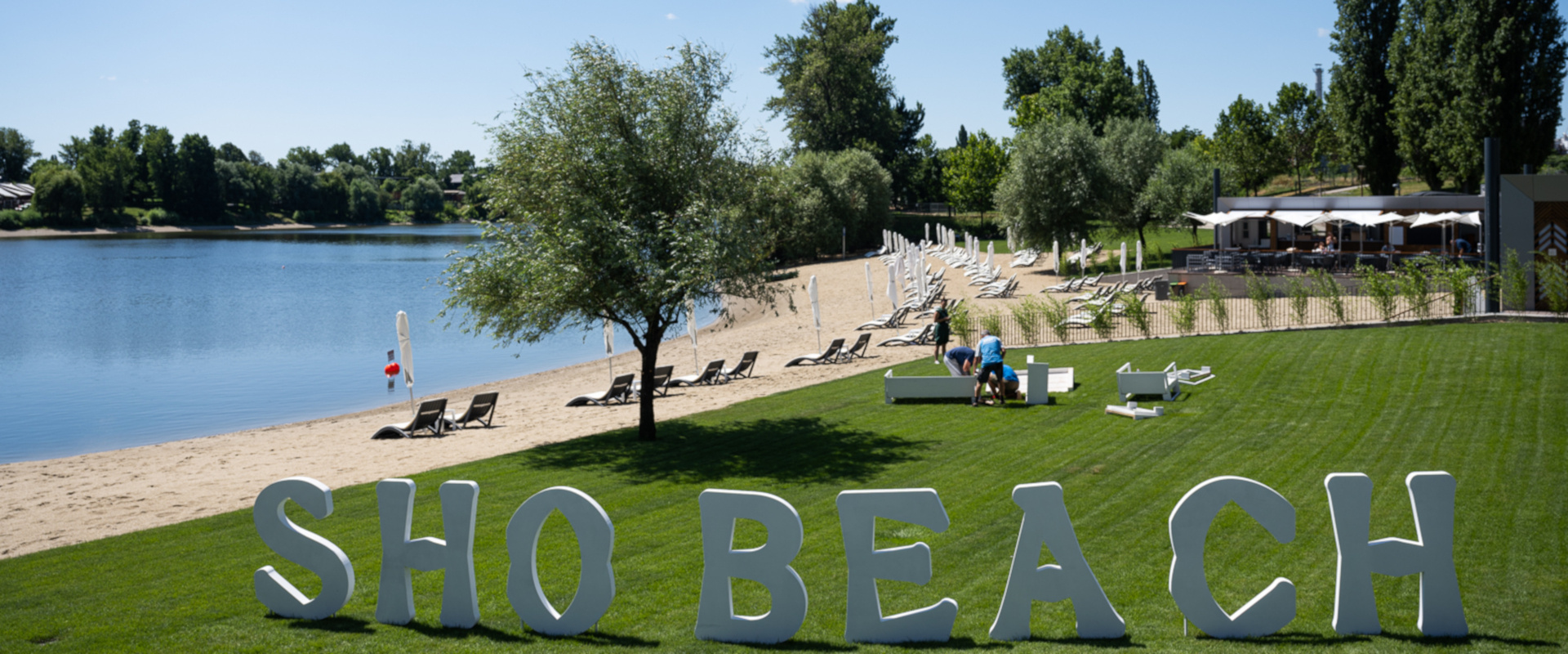 SHO beach betűk cover
