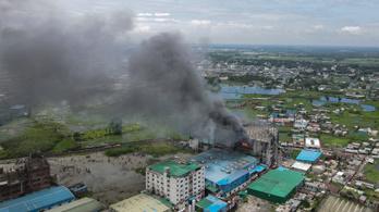 Félszáz áldozatot követelt a pusztító üzemtűz