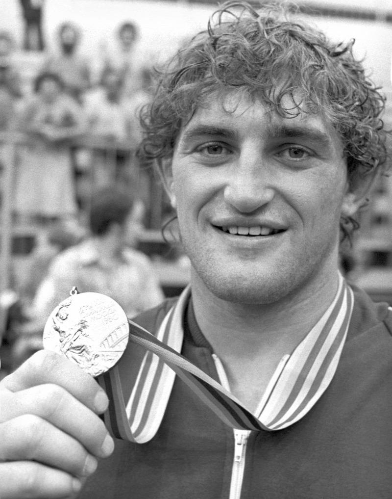 Az 1980-as moszkvai olimpián birkózásban lett aranyérmes ez a sportoló. Hogy hívják?