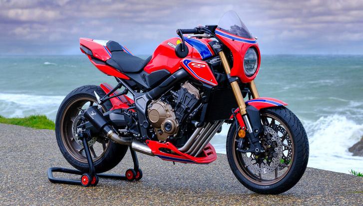 CB650R Four - építő: Sagaz Honda, Toulouse, Franciaország