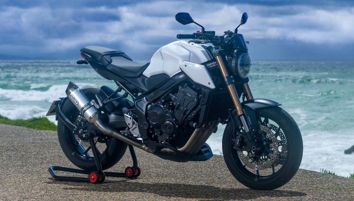 CB650R White Edition - építő: 3C Motors, Anglet, Franciaország