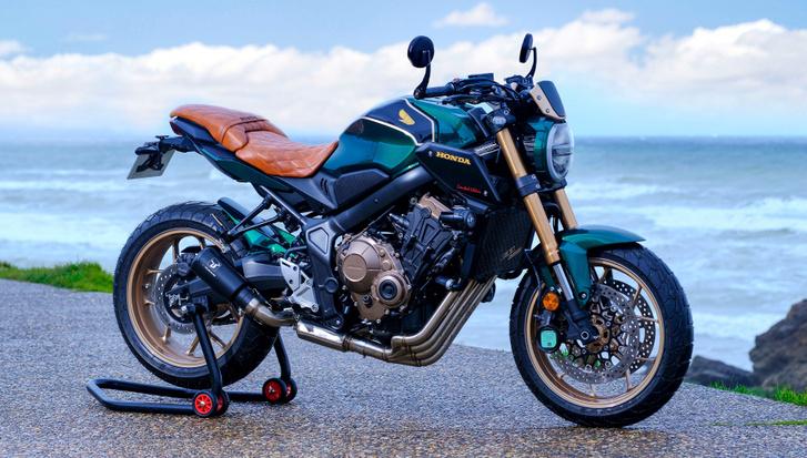 CB650R Four Limited Edition - építő: Espace Moto, Angers, Franciaország